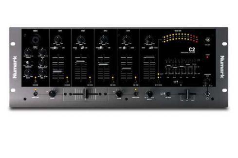 Numark C2 4-Channel mix Mesas de mezcla DJ