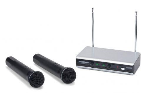 Samson Stage V266 Handheld Sistemas inalábricos con micrófono handheld
