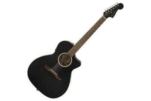 Fender Newporter Special Matte Black w/bag Otras guitarras con electrónica