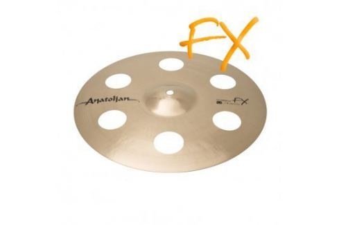 "Anatolian Ultimate FX Crash 16"" Platos crash 16"