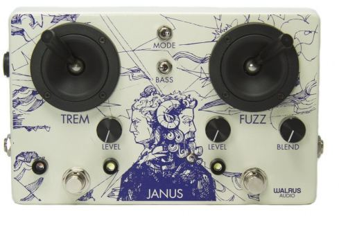 Walrus Audio Janus Fuzz/Tremolo with Joystick Control Overdrive / Distorsión / Fuzz / Booster