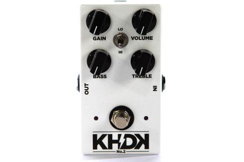 KHDK Electronics No. 2 Clean Boost Overdrive / Distorsión / Fuzz / Booster