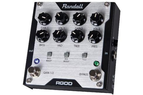 Randall RGOD Overdrive / Distorsión / Fuzz / Booster
