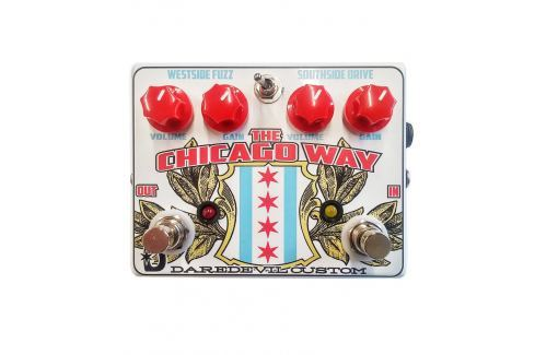 Daredevil Pedals the Chicago Way Overdrive Fuzz Overdrive / Distorsión / Fuzz / Booster
