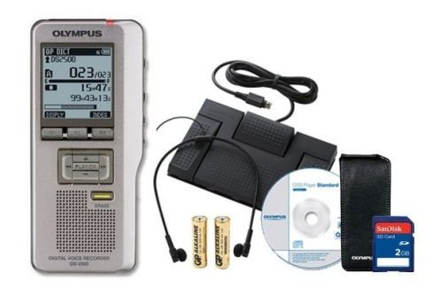 Olympus Dictation and Transcription Kit Silver Pro Grabadores digitales portables