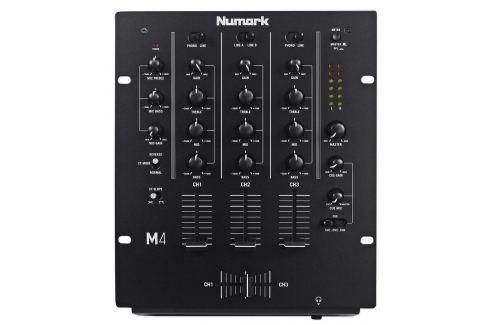 Numark M4 Black Mesas de mezcla DJ