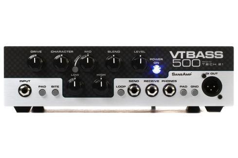 Tech 21 VT-500 Cabezales para bajos a transistores