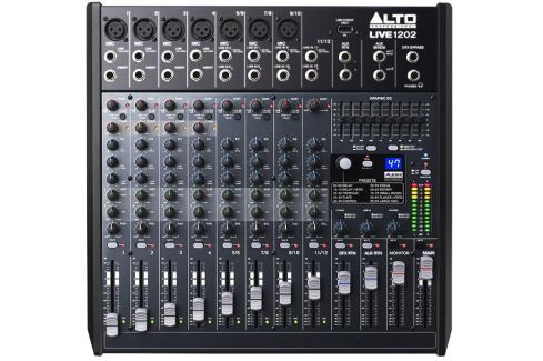 Alto Professional Live 1202 Mesas de mezcla hasta 20 canales