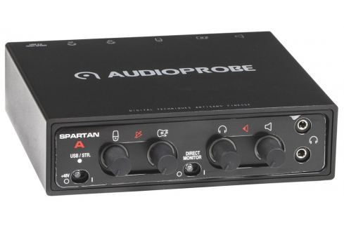 Audio Probe SPARTAN A Black USB audio interfaces