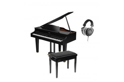 Roland GP607 Gloss Black Set Pianos digitales