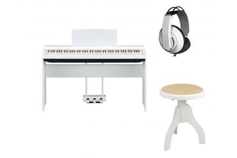 Yamaha P-125WH Deluxe Set Pianos de escena