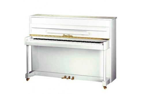 Pearl River UP118M White Pianos