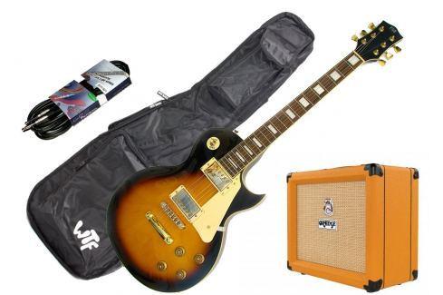 PSD LP1 Singlecut Standard-Vintage Sunburst SET Packs de guitarra eléctrica