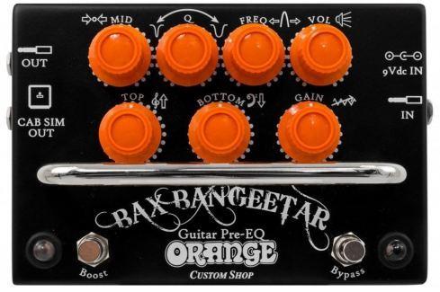 Orange Bax Bangeetar Black Ecualizadores