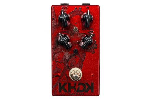 KHDK Electronics Dark Blood Limited Edition Candy Apple Red Overdrive / Distorsión / Fuzz / Booster