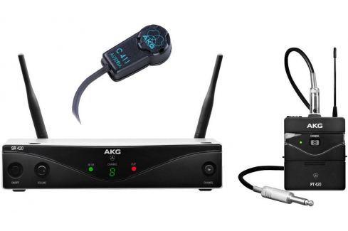 AKG WMS420 VIOLIN SET Sistemas inalábricos con micrófono de instrumentos