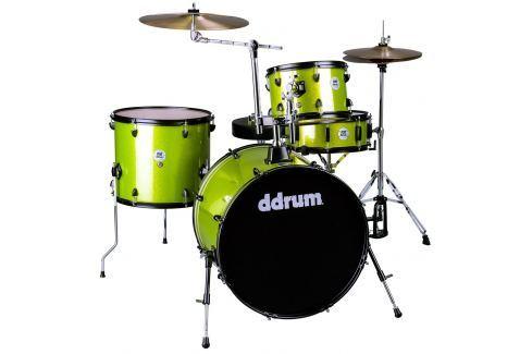 DDRUM D2 Rock Kit Lime Sparkle Conjuntos de batería acústica Rock 22-12-13-16
