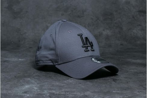 New Era Youth 9Forty MLB League Los Angeles Dodgers Cap Grey/ Black Strapback