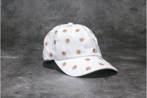 HUF Apparel Cap PLP EMB Dad Hat White Strapback