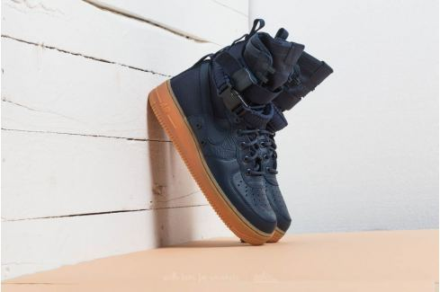 Nike SF Air Force 1 Midnight Navy/ Midnight Navy Bambas Hombre