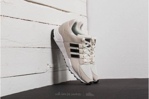 adidas EQT Support RF Off White/ Core Black/ Clear Brown Bambas Hombre