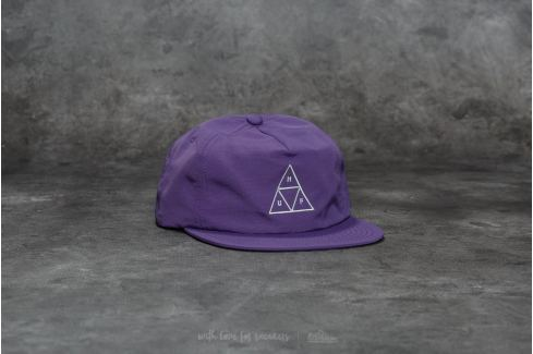 HUF Triple Triangle Snapback Purple Snapback