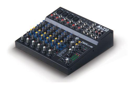 Alto Profesional Mesa Mezclas ZMX122FX DJ/ Audio Pro.