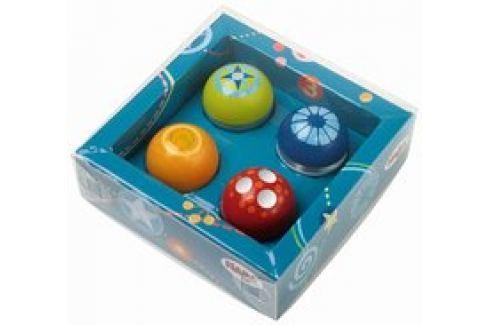 Bolas descubridores, juego de 4, Haba Juguete para niños